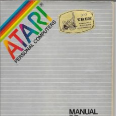Videojuegos y Consolas: ATARI PERSONAL COMPUTER - LIBRO MANUAL DE BASIC - VER FOTOS. Lote 106071035