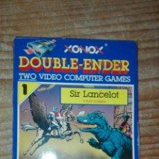 Videojuegos y Consolas: SIR LANCELOT + ROBIN HOOD ATARI. Lote 107528155