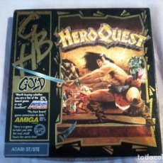 Videojuegos y Consolas: HEROQUEST . VIDEOJUEGO ATARI ST/STE COMPLETO . Lote 107737151