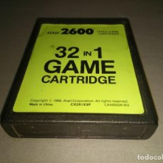 Videojuegos y Consolas: ATARI 2600 -VIDEO GAME CARTRIDGE - 32 IN 1 GAME ( CX26163P/1988) . Lote 108915267