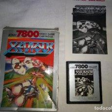 Videojuegos y Consolas: JUEGO PARA ATARI 7800 XEVIOUS ORIGINAL 1987. Lote 109204699