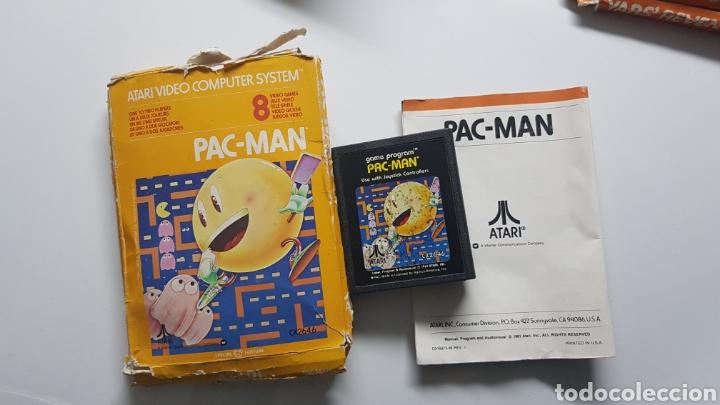 PACK-MAN ATARI VINTAGE CON CAJA E INSTRUCCIONES (Juguetes - Videojuegos y Consolas - Atari)