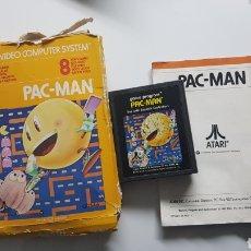 Videojuegos y Consolas: PACK-MAN ATARI VINTAGE CON CAJA E INSTRUCCIONES. Lote 109826863