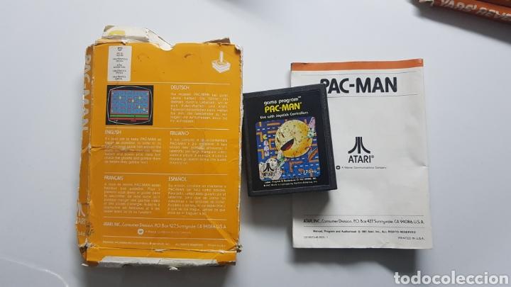 Videojuegos y Consolas: Pack-Man Atari vintage con caja e instrucciones - Foto 2 - 109826863