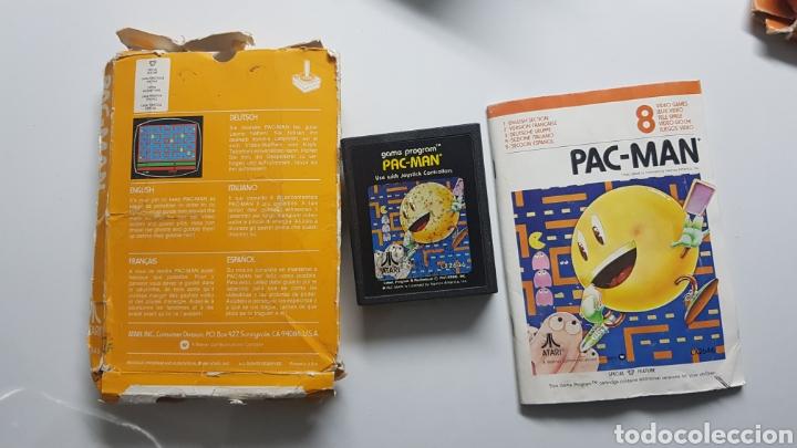 Videojuegos y Consolas: Pack-Man Atari vintage con caja e instrucciones - Foto 3 - 109826863