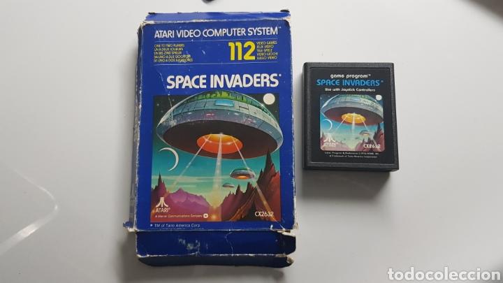 JUEGO SPACE INVADERS DE ATARI 1978 EN CAJA (Juguetes - Videojuegos y Consolas - Atari)