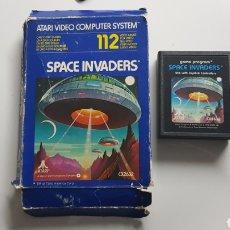 Videojuegos y Consolas: JUEGO SPACE INVADERS DE ATARI 1978 EN CAJA. Lote 109827650