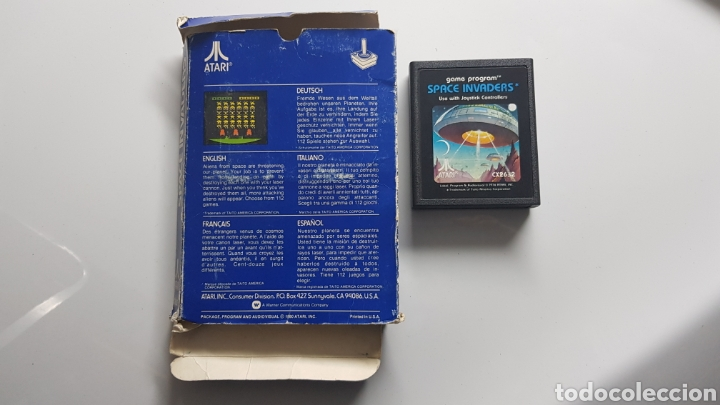 Videojuegos y Consolas: JUEGO SPACE INVADERS DE ATARI 1978 EN CAJA - Foto 2 - 109827650
