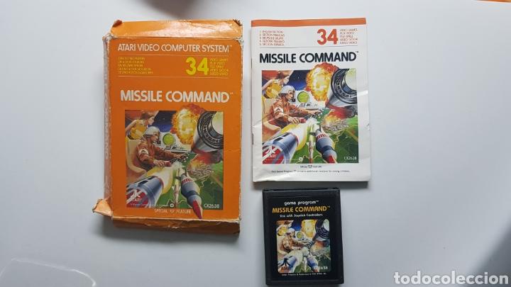 JUEGO ATARI MISSILE COMMAND CON CAJA E INSTRUCCIONES (Juguetes - Videojuegos y Consolas - Atari)