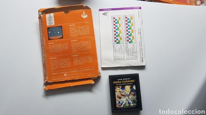 Videojuegos y Consolas: JUEGO ATARI MISSILE COMMAND CON CAJA E INSTRUCCIONES - Foto 2 - 109828228