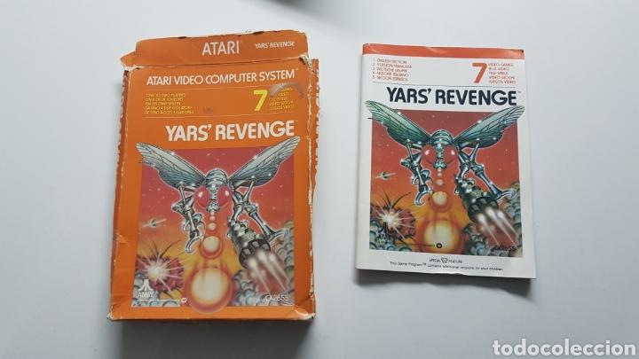 YAR'S REVENGE ATARI CAJA E INSTRUCCIONES ( NO INCLIYE JUEGO!! ) (Juguetes - Videojuegos y Consolas - Atari)