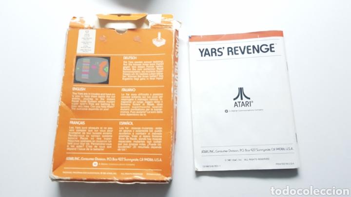 Videojuegos y Consolas: YARS REVENGE ATARI CAJA E INSTRUCCIONES ( NO INCLIYE JUEGO!! ) - Foto 2 - 109828860