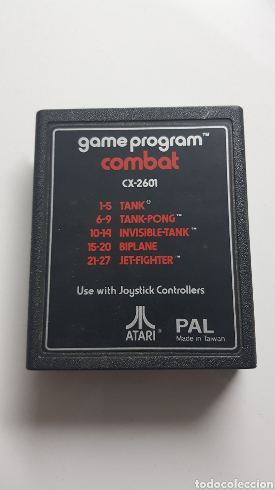 Videojuegos y Consolas: GAME PROGRAM COMBAT ATARI CARTUCHO ORIGINAL - Foto 1 - 109829714