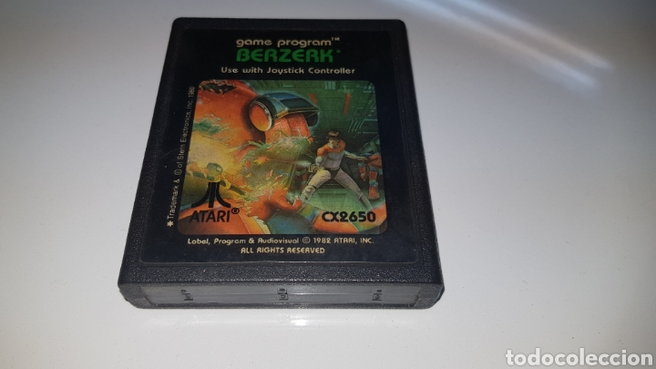 JUEGO ATARI BERZERK ORIGINAL (Juguetes - Videojuegos y Consolas - Atari)