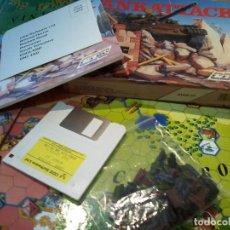 Videojuegos y Consolas: TANK ATTACK . ATARI ST DISKETE. COMPLETO . Lote 110143387