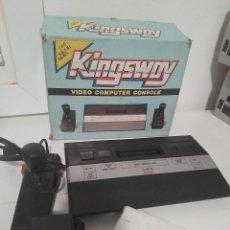 Videojuegos y Consolas: CONSOLA ATARI 2600. RÉPLICA KINGSWAY. . COMPATIBLE. . Lote 110746051