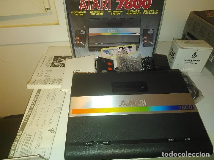 CONSOLA ATARI 7800 NEW NUEVA A ESTRENAR INCLUYE JUEGO ASTEROIDS (Juguetes - Videojuegos y Consolas - Atari)