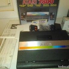 Videojuegos y Consolas: CONSOLA ATARI 7800 NEW NUEVA A ESTRENAR INCLUYE JUEGO ASTEROIDS. Lote 110749703