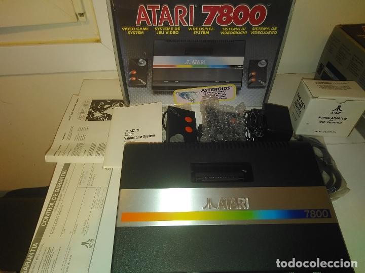 Videojuegos y Consolas: Consola Atari 7800 new nueva a estrenar incluye juego asteroids - Foto 2 - 110749703