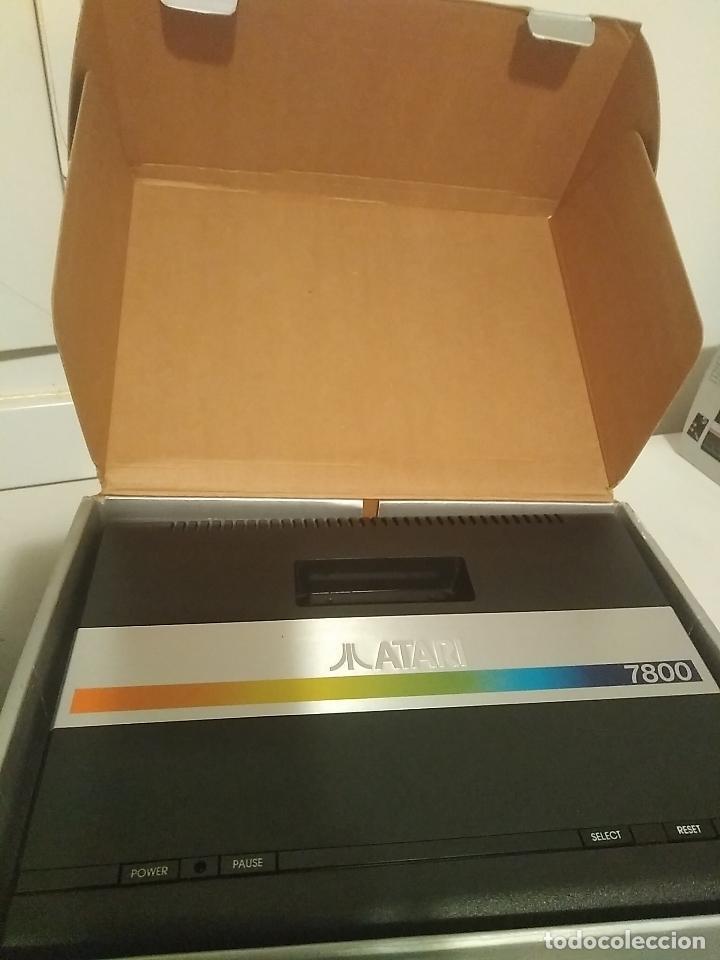 Videojuegos y Consolas: Consola Atari 7800 new nueva a estrenar incluye juego asteroids - Foto 3 - 110749703