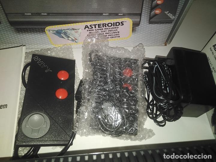 Videojuegos y Consolas: Consola Atari 7800 new nueva a estrenar incluye juego asteroids - Foto 5 - 110749703
