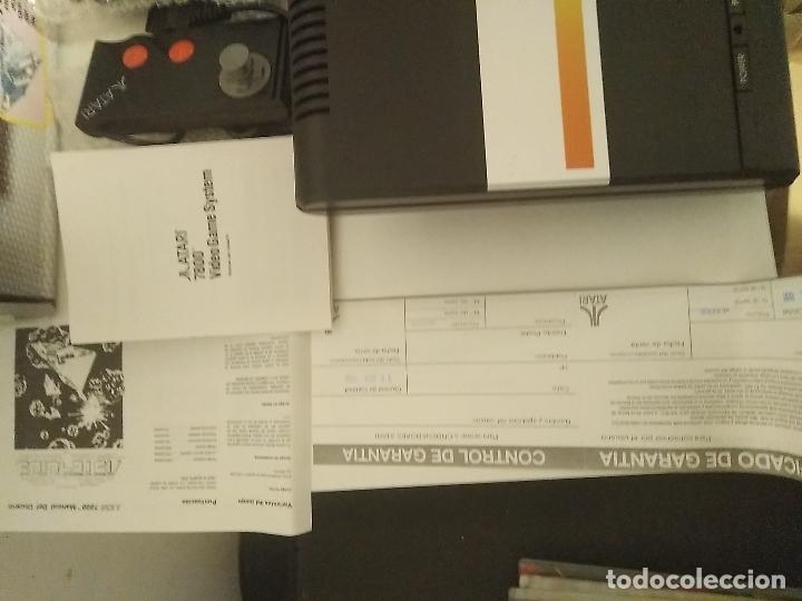 Videojuegos y Consolas: Consola Atari 7800 new nueva a estrenar incluye juego asteroids - Foto 6 - 110749703