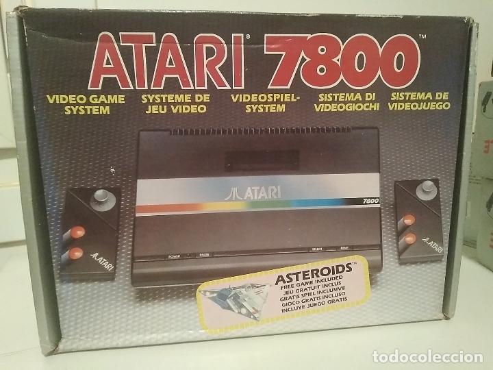 Videojuegos y Consolas: Consola Atari 7800 new nueva a estrenar incluye juego asteroids - Foto 8 - 110749703