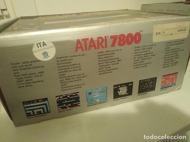 Videojuegos y Consolas: Consola Atari 7800 new nueva a estrenar incluye juego asteroids - Foto 9 - 110749703