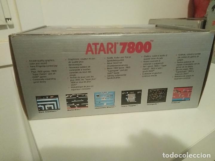 Videojuegos y Consolas: Consola Atari 7800 new nueva a estrenar incluye juego asteroids - Foto 13 - 110749703