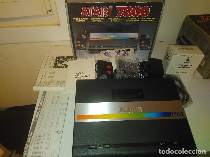 Videojuegos y Consolas: Consola Atari 7800 new nueva a estrenar incluye juego asteroids - Foto 14 - 110749703