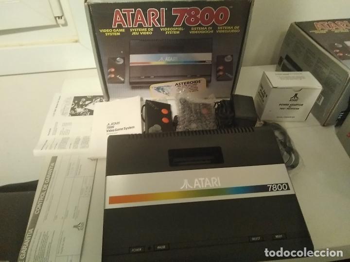 Videojuegos y Consolas: Consola Atari 7800 new nueva a estrenar incluye juego asteroids - Foto 15 - 110749703