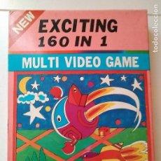 Videojuegos y Consolas: JUEGO ATARI EXCITING 160 IN 1 MULTI VIDEO GAME NEW 2402-160. Lote 110752551