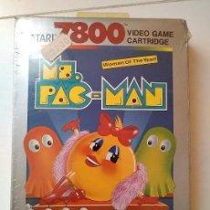 Videojuegos y Consolas: JUEGO ATARI 7800 MS PAC MAN SEALED NEW NUEVO SELLADO. Lote 110753075