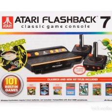 Videojuegos y Consolas: CONSOLA RETRO ATARI FLASHBACK 7 (INCLUYE 101 JUEGOS) -NUEVO, PRECINTADO-. Lote 112176847