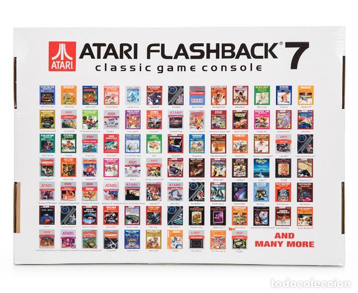 Consola Retro Atari Flashback 7 Incluye 101 Ju Comprar