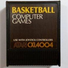 Jeux Vidéo et Consoles: VIDEOJUEGO BASKETBALL - COMPUTER GAMES - ATARI 400 800 XL XE - 1979 - CXL4004 - CARTUCHO. Lote 112301151