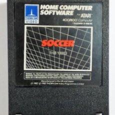 Videojuegos y Consolas: VIDEOJUEGO SOCCER - PARA ATARI 400 800 XL XE - THORN EMI 1982 - THB12003 - CARTUCHO. Lote 112314903