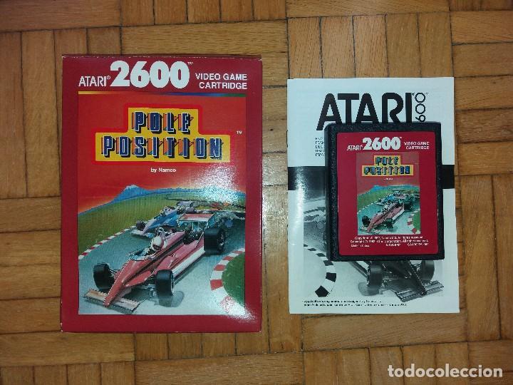 Videojuegos y Consolas: Atari 2600 original + Juego Pole Position - Foto 2 - 113145659