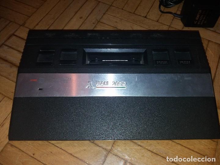 Videojuegos y Consolas: Atari 2600 original + Juego Pole Position - Foto 5 - 113145659
