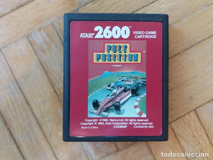 Videojuegos y Consolas: Atari 2600 original + Juego Pole Position - Foto 9 - 113145659