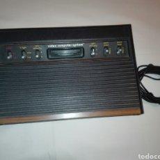 Videojuegos y Consolas: ANTIGUA ATARI VIDEO COMPUTER SYSTEM + 2 MANDOS JOYSTICK + 11JUEGOS .. Lote 113300884