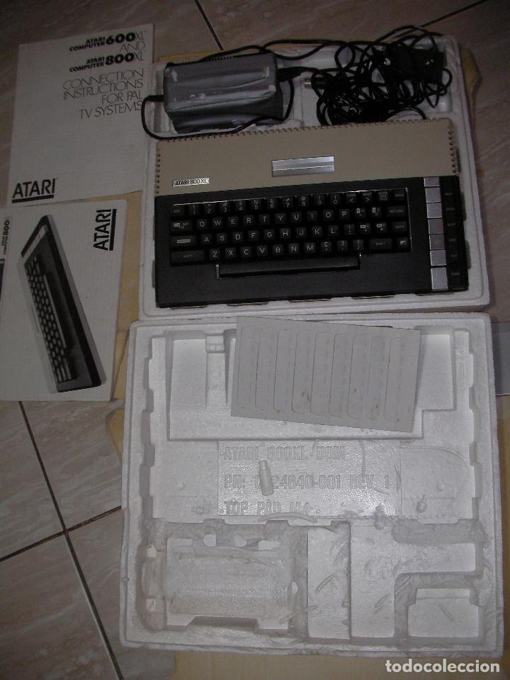 Videojuegos y Consolas: ANTIGUA CONSOLA ATARI COMPUTER 800 XL - Foto 3 - 114654139