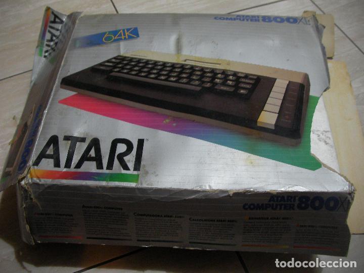 Videojuegos y Consolas: ANTIGUA CONSOLA ATARI COMPUTER 800 XL - Foto 10 - 114654139