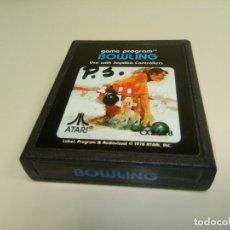 Videojuegos y Consolas: 918- BOWLING - GAME- ATARI - REF CX2628 - 1978. Lote 114895099