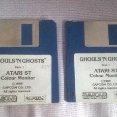 Videojogos e Consolas: GHOULS N GHOSTS PARA ATARI ST COLOUR MONITOR 1989!!!!. Lote 116649255