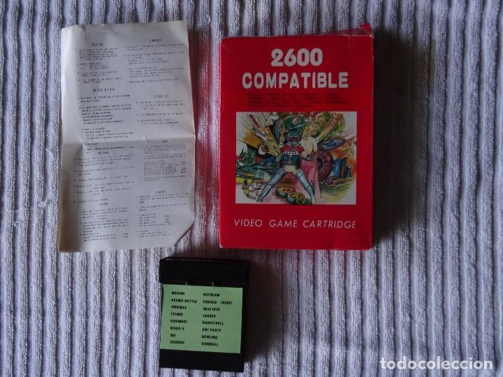 JUEGO PARA ATARI 2600 - COMPATIBLE 16 GAMES 1 (Juguetes - Videojuegos y Consolas - Atari)