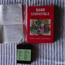 Videojuegos y Consolas: JUEGO PARA ATARI 2600 - COMPATIBLE 16 GAMES 1. Lote 117291359