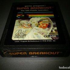 Videojuegos y Consolas: 918- SUPER BREAKOUT - GAME - ATARI -CX 2608 -1978. Lote 117824971
