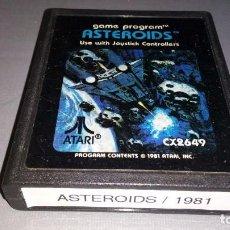Videojuegos y Consolas: 918- ASTEROIDS - GAME- ATARI - REF CX2654 - 1981 Nº3. Lote 117825227