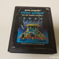 Videojogos e Consolas: 918- GAME PROGRAM ATARI VIDEO PINBALL CX2648 1981. Lote 118234307